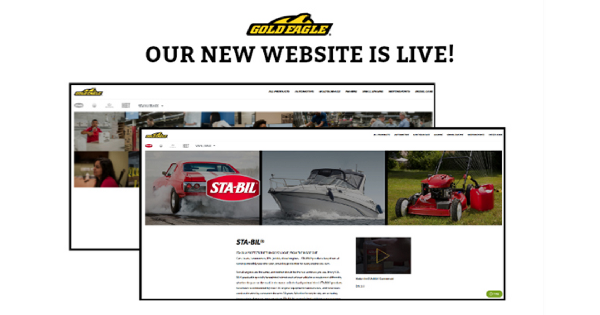 Gold Eagle New Website